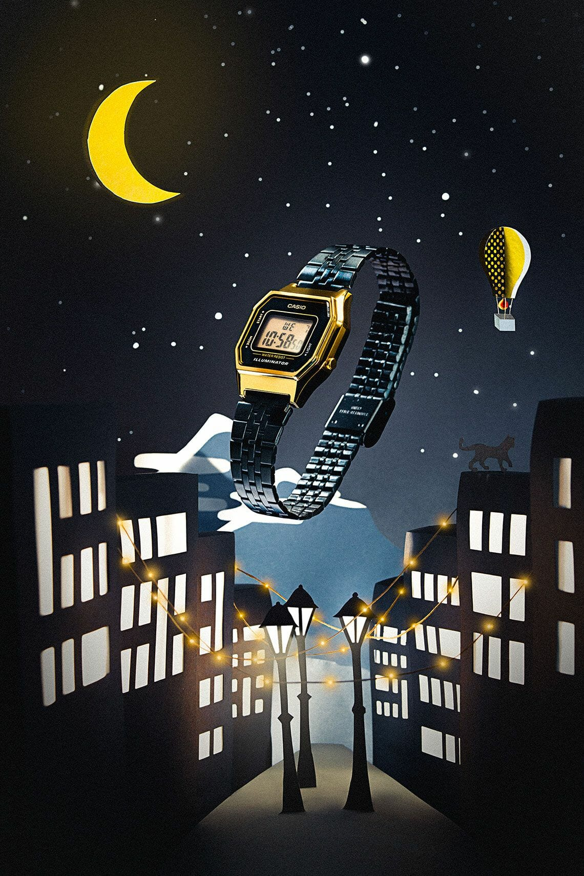 Shooting photo - Casio Illuminator