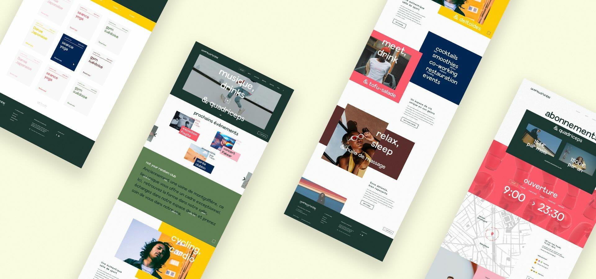 la montgolfiere webdesign site responsive