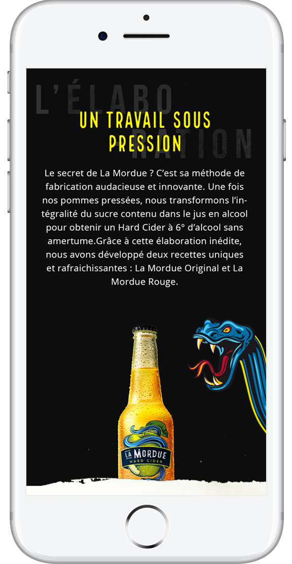 la mordue hard cider site mobile 2