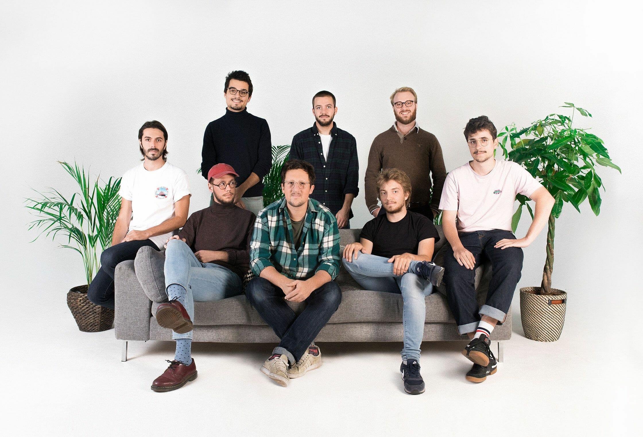 L'équipe créative Purée Maison au complet
