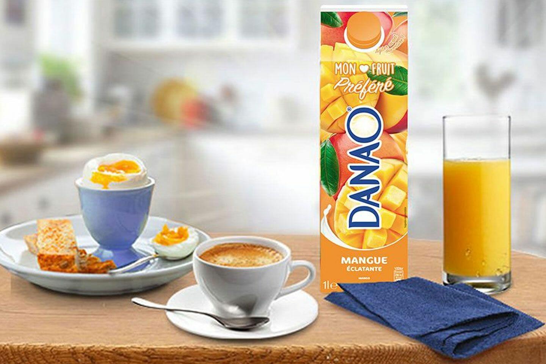 Image du cas client Danao s'associe à Purée Maison !