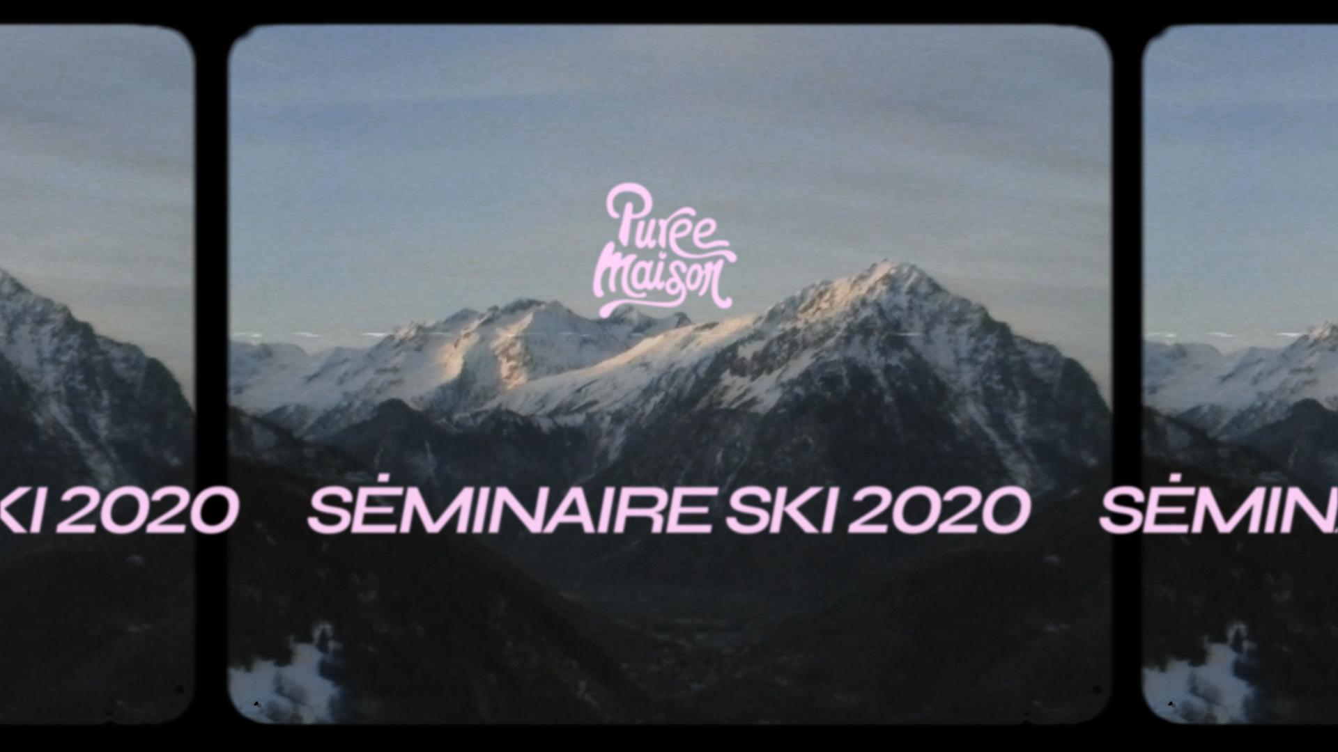 Image du cas client On commence l'année avec la 3ème édition de notre séminaire ski !