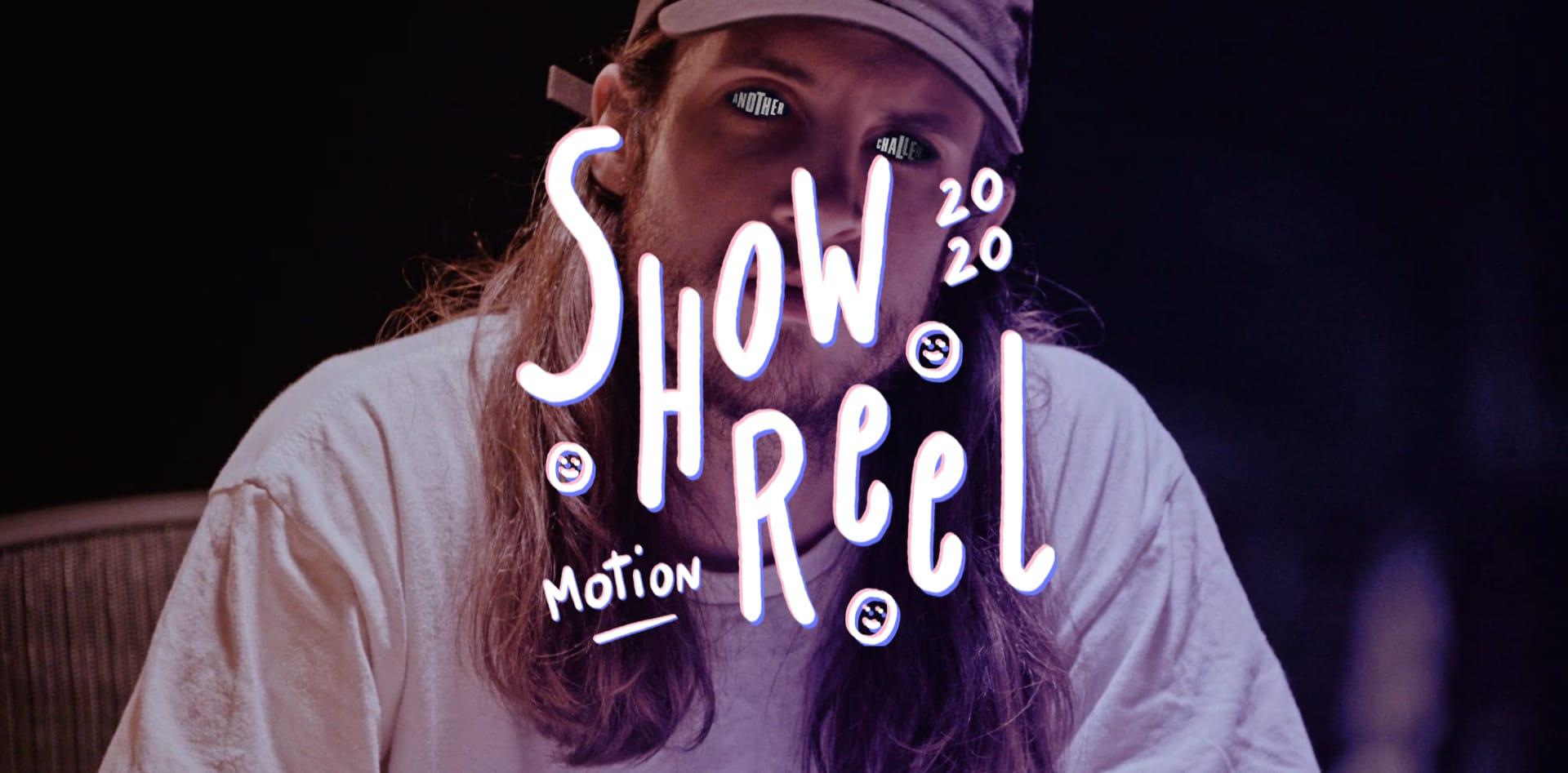 Image du cas client Showreel Motion Design